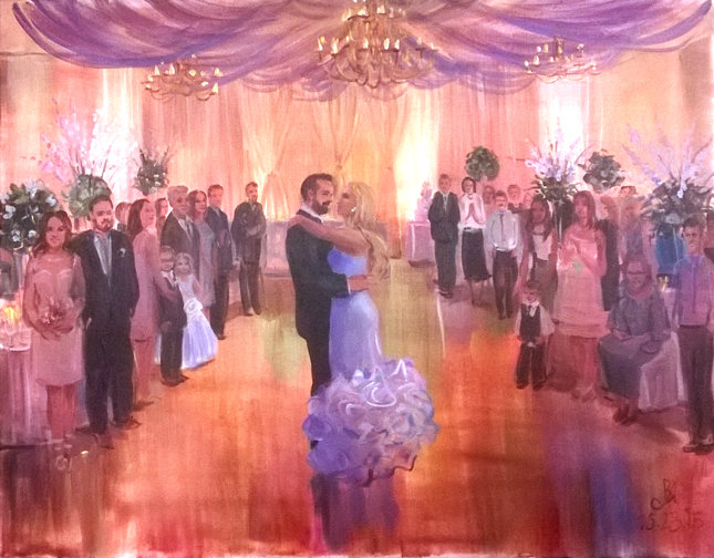 Wedding Painting May 23 2017
